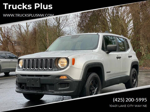 2016 Jeep Renegade for sale at Trucks Plus in Seattle WA