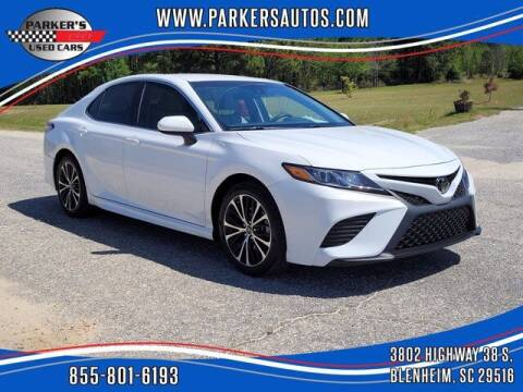 2018 Toyota Camry for sale at Parker's Used Cars in Blenheim SC