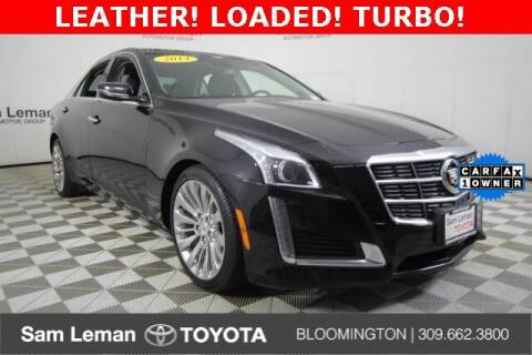 2014 Cadillac CTS for sale at Sam Leman Mazda in Bloomington IL
