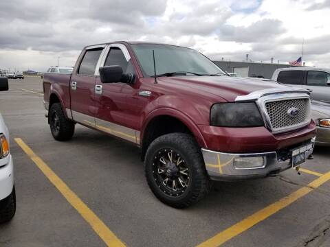 2004 Ford F-150 for sale at KHAN'S AUTO LLC in Worland WY