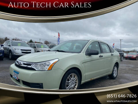 2010 Ford Focus for sale at Auto Tech Car Sales in Saint Paul MN