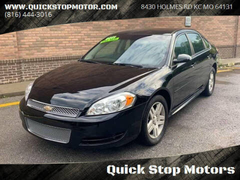 2011 Chevrolet Impala for sale at Quick Stop Motors in Kansas City MO