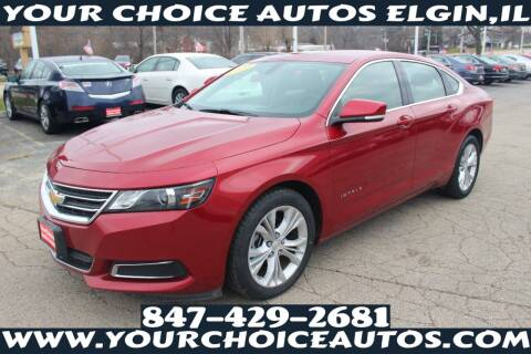 2015 Chevrolet Impala for sale at Your Choice Autos - Elgin in Elgin IL