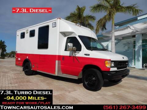 1999 Ford E-450 for sale at Town Cars Auto Sales in West Palm Beach FL