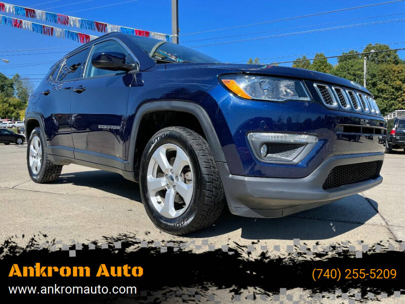 2018 Jeep Compass for sale at Ankrom Auto in Cambridge OH