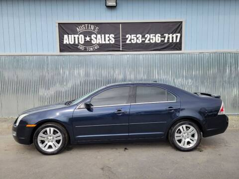 2009 Ford Fusion for sale at Austin's Auto Sales in Edgewood WA