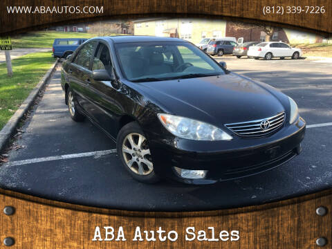 2005 Toyota Camry for sale at ABA Auto Sales in Bloomington IN