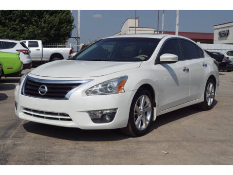 2015 Nissan Altima for sale at Credit Connection Sales in Fort Worth TX