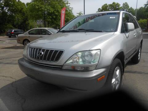 2002 Lexus RX 300 for sale at N H AUTO WHOLESALERS in Roslindale MA