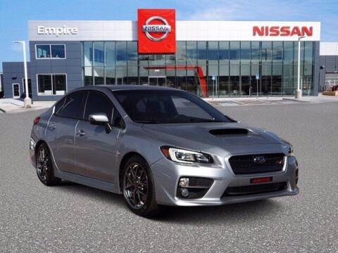 2017 Subaru WRX for sale at EMPIRE LAKEWOOD NISSAN in Lakewood CO