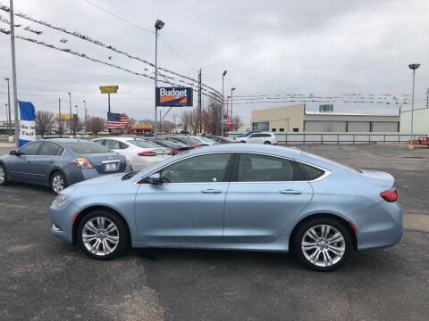 2015 Chrysler 200 for sale at BUDGET CAR SALES in Amarillo TX