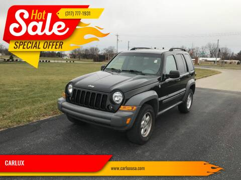 2005 Jeep Liberty for sale at CARLUX in Fortville IN