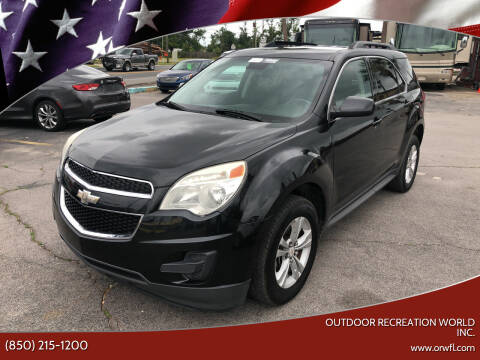 2014 Chevrolet Equinox for sale at Outdoor Recreation World Inc. in Panama City FL