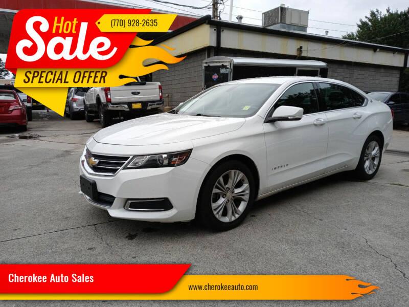 2015 Chevrolet Impala for sale at Cherokee Auto Sales in Acworth GA
