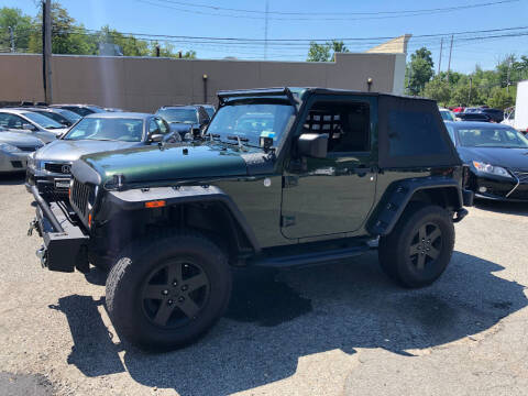2010 Jeep Wrangler for sale at Matrone and Son Auto in Tallman NY