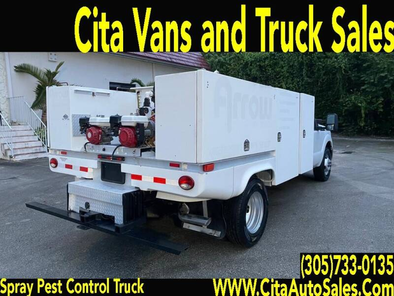 2011 FORD F350 SD PEST CONTROL SPRAY TRUCK for sale at Cita Auto Sales in Medley FL