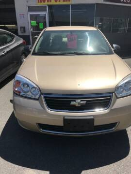 2006 Chevrolet Malibu for sale at 696 Automotive Sales & Service in Troy NY