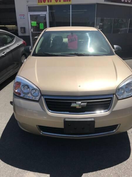 2006 Chevrolet Malibu for sale at 696 Automotive Sales & Service in Troy NY