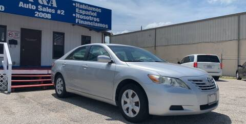 2009 Toyota Camry for sale at P & A AUTO SALES in Houston TX
