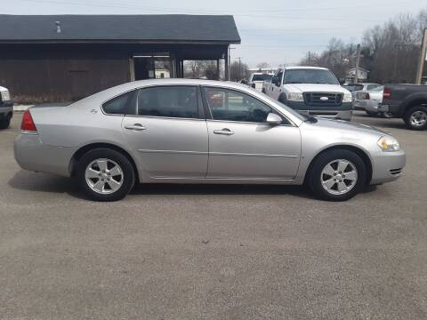 2007 Chevrolet Impala for sale at Riverview Auto's, LLC in Manchester OH