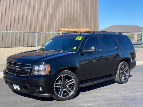 2012 Chevrolet Tahoe for sale at Evolution Auto Sales LLC in Springville UT