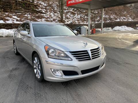 2013 Hyundai Equus for sale at Exotic Automotive Group in Jersey City NJ