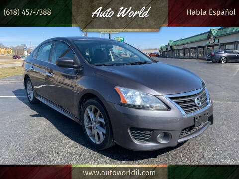 2013 Nissan Sentra for sale at Auto World in Carbondale IL