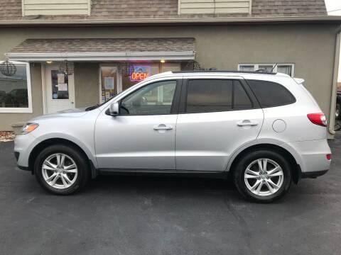2012 Hyundai Santa Fe for sale at DOOR PENINSULA SALES & STORAGE LTD in Sturgeon Bay WI