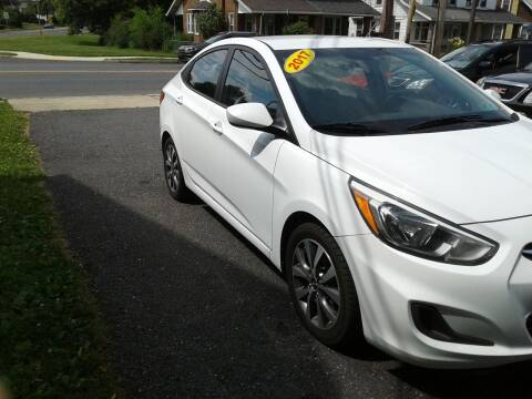 2017 Hyundai Accent for sale at ELIAS AUTO SALES in Allentown PA