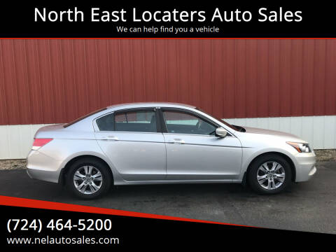 2012 Honda Accord for sale at North East Locaters Auto Sales in Indiana PA