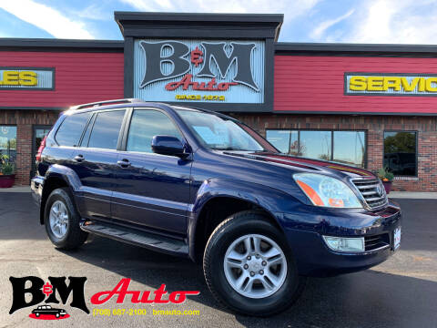 2006 Lexus GX 470 for sale at B & M Auto Sales Inc. in Oak Forest IL
