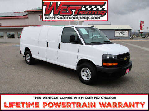 2020 Chevrolet Express Cargo for sale at West Motor Company in Preston ID