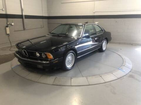 1988 BMW 6 Series for sale at Luxury Car Outlet in West Chicago IL