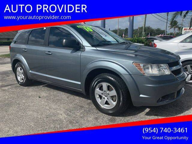 2010 Dodge Journey for sale at AUTO PROVIDER in Fort Lauderdale FL