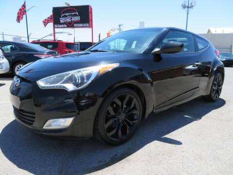 2015 Hyundai Veloster for sale at Moving Rides in El Paso TX