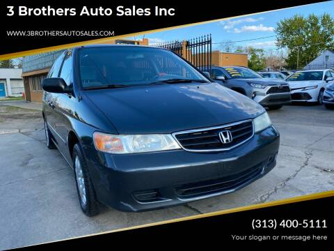 2004 Honda Odyssey for sale at 3 Brothers Auto Sales Inc in Detroit MI
