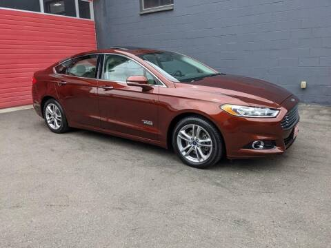 2016 Ford Fusion Energi for sale at Paramount Motors NW in Seattle WA