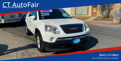 2007 GMC Acadia for sale at CT AutoFair in West Hartford CT