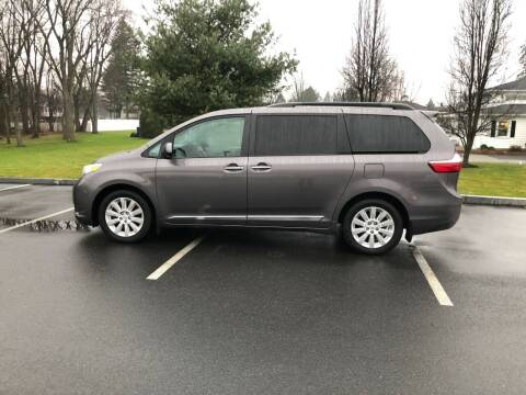 2015 Toyota Sienna for sale at Chris Auto South in Agawam MA
