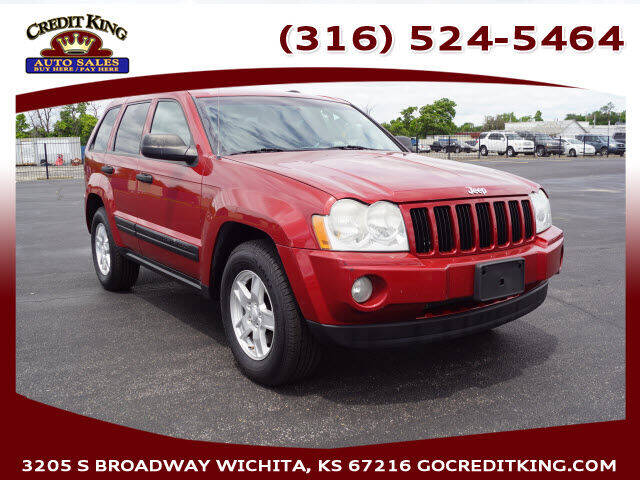 2005 Jeep Grand Cherokee for sale at Credit King Auto Sales in Wichita KS