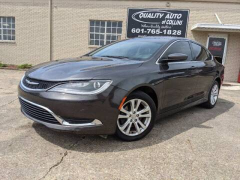 2015 Chrysler 200 for sale at Quality Auto of Collins in Collins MS
