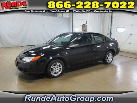 2004 Saturn Ion for sale at Runde PreDriven in Hazel Green WI