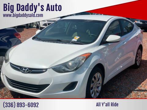 2011 Hyundai Elantra for sale at Big Daddy's Auto in Winston-Salem NC
