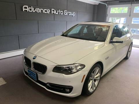 2014 BMW 5 Series for sale at Advance Auto Group, LLC in Chichester NH
