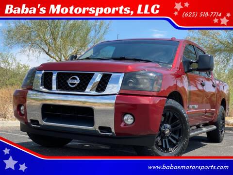 2014 Nissan Titan for sale at Baba's Motorsports, LLC in Phoenix AZ