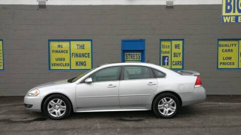 2011 Chevrolet Impala for sale at BIG #1 INC in Brownstown MI