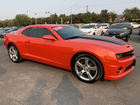 2012 Chevrolet Camaro for sale at Blue Diamond Auto Sales in Ceres CA
