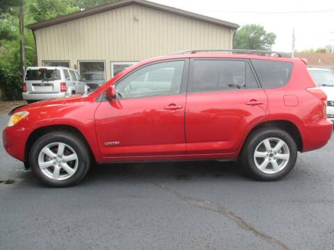 2007 Toyota RAV4 for sale at Home Street Auto Sales in Mishawaka IN