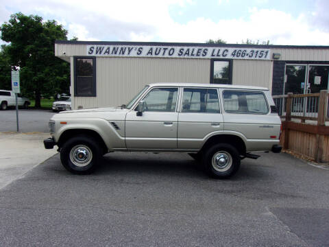 1988 Toyota Land Cruiser for sale at Swanny's Auto Sales in Newton NC