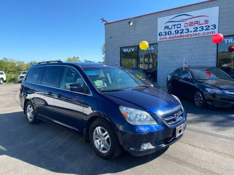 2005 Honda Odyssey for sale at Auto Deals in Roselle IL